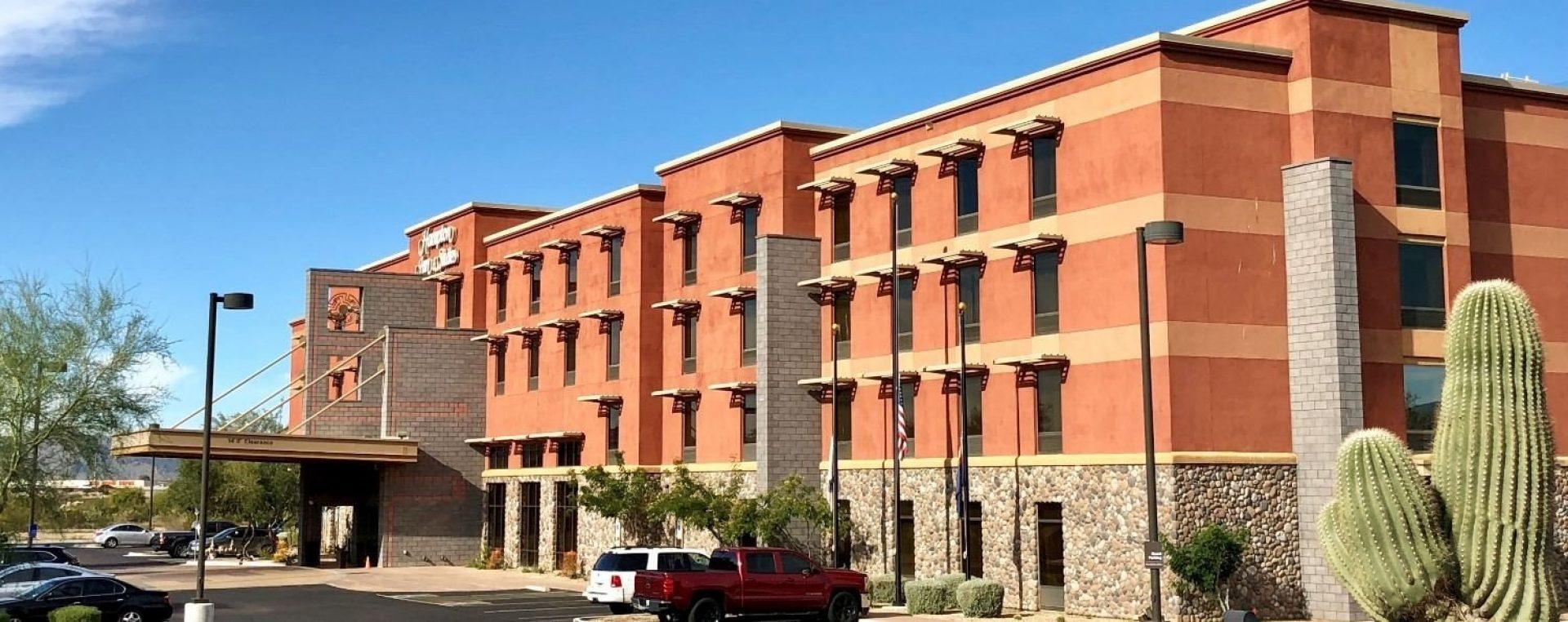 Riverwalk hotel hampton inn